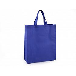 Sacoșă material nețesut, 34x40 cm - albastru