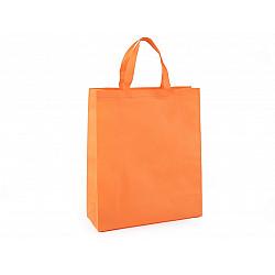 Sacoșă material nețesut, 34x40 cm - portocaliu