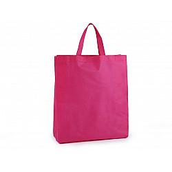 Sacoșă material nețesut, 34x40 cm - roz