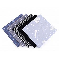Set 5 materiale textile pentru patchwork, 48x50 cm - Mix-50