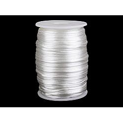 Șnur satinat, Ø2 mm (rola 95 m) - Off White