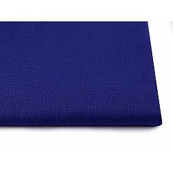 Țesătură broderie Kanava la metru, lățime 140 cm, 54 ochiuri - albastru cobalt