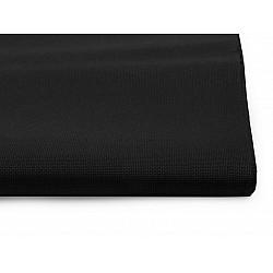 Țesătură broderie Kanava la metru, lățime 140 cm, 54 ochiuri - negru