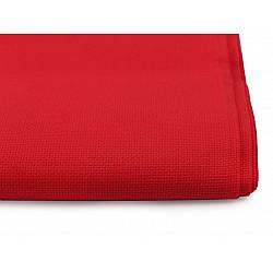 Țesătură broderie Kanava la metru, lățime 140 cm, 54 ochiuri - roșu