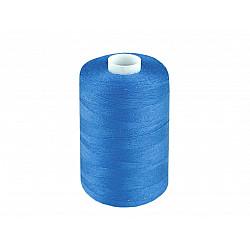 Ață sintetica 40/2, 1000 m - albastru azur