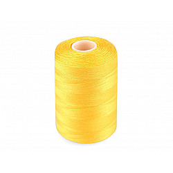 Ață sintetica 40/2, 1000 m - galben
