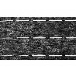 Bandă betelie termoadezivă / întăritură betelie, cu trei fante, lățime 90 mm, 50 m - antracit