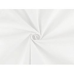 Bumbac alb antibacterian cu particule de argint - alb