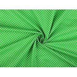 Bumbac cu buline, la metru - verde crud