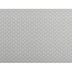 Bumbac imprimat, motiv floral, la metru - gri deschis