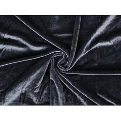 Catifea elastică la metru - gri