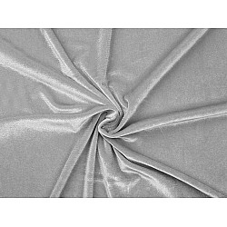 Catifea elastică la metru - gri deschis