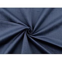 Catifea uni structurată, la metru - albastru întunecat