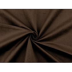 Catifea uni structurată, la metru - maro ciocolatiu