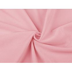 Catifea uni structurată, la metru - roz foarte deschis