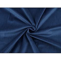 Catifea usor elastica, la metru - albastru regal