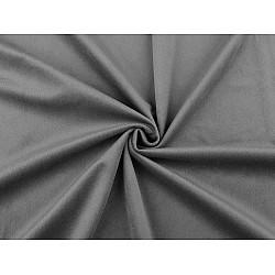 Catifea usor elastica, la metru - gri