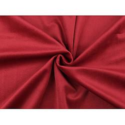 Catifea usor elastica, la metru - roșu