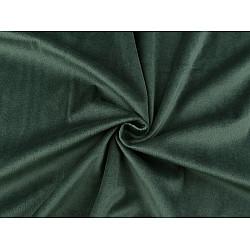Catifea usor elastica, la metru - verde pădurar
