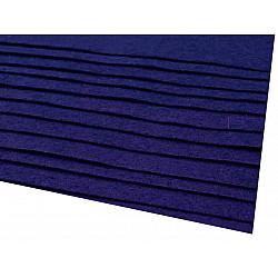 Coli fetru, 20x30 cm, 166 g / m², 2 bucati - albastru afină