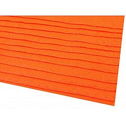 Coli fetru, 20x30 cm, 166 g / m², 2 bucati - portocaliu reflectorizan