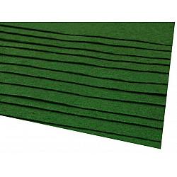 Coli fetru, 20x30 cm, 166 g / m², 2 bucati - verde irlandez