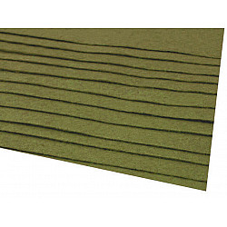 Coli fetru, 20x30 cm, 166 g / m², 2 bucati - verde kaki
