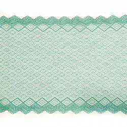 Dantela elastica - Turcoaz pal - 20 cm