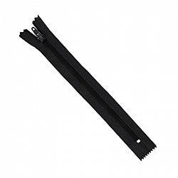 Fermoar clasic - 20cm, Negru