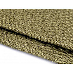 Imitație de iută căptușită - verde kaki