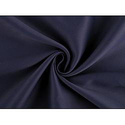 Material Blackout pentru draperii, lățime 280 cm - albastru închis