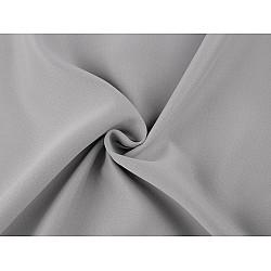 Material Blackout pentru draperii, lățime 280 cm - gri foarte deschis