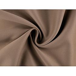 Material Blackout pentru draperii, lățime 280 cm - maro deschis