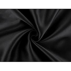 Material Blackout pentru draperii, lățime 280 cm - negru
