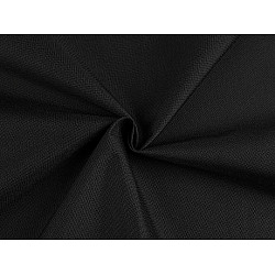 Material fâș / impermeabil 600D, la metru - negru