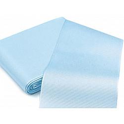 Panglică din tafta, lățime 10,8 cm (pachet 10 m) - albastru deschis