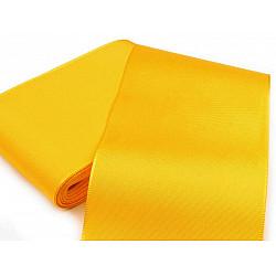 Panglică din tafta, lățime 10,8 cm (pachet 10 m) - galben