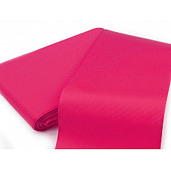 Panglică din tafta, lățime 10,8 cm (pachet 10 m) - roz intens