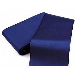 Panglică din tafta, lățime 72 mm (pachet 10 m) - albastru berlin