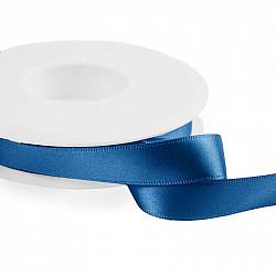 Panglica dublu satinata 2 cm - Albastru