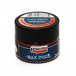 Pasta ceara metalica 20 ml (Wax Paste) - Rosu
