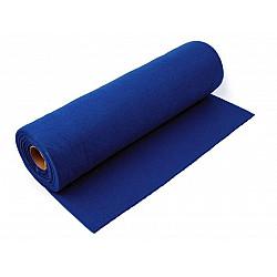 Rolă fetru, lățime 41 cm x 5 m - albastru cobalt