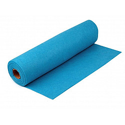 Rolă fetru, lățime 41 cm x 5 m - baby blue