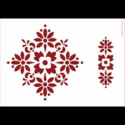 Sablon A5 - Traditional - 14.5x21 cm
