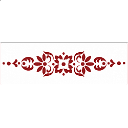 Sablon bordura - Traditional - 20.5x7 cm
