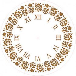 Sablon cadran - Trandafiri - 20cm