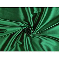 Satin elastic la metru - verde smarald