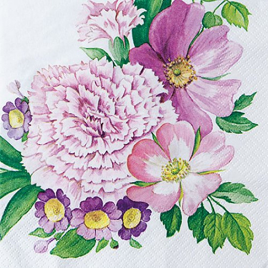 Servetele - Coltul florilor mari - 33x33cm, 1 pachet (20 buc.)