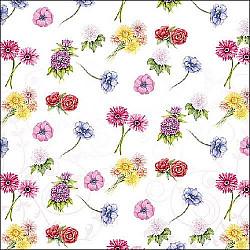 Servetele - Festivalul florilor - 33x33cm, 4 buc