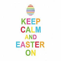 Servetele - Keep Calm Easter  - 33x33cm, 4 buc